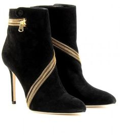 Brian Atwood Zip Around Ankle Boots