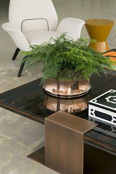 mesa de centro, detalhes, design interiores