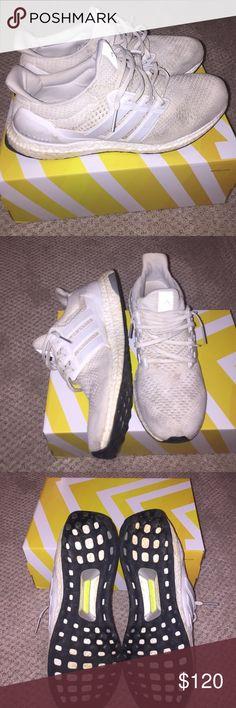 Adidas ultra Boost triple blanco