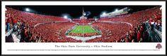 Ohio State Buckeyes Panoramic - Ohio Stadium Picture