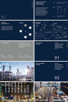 I like the dark and white colour scheme Diagram Design, Powerpoint Design Templates, Ppt Design, Layout Design, Brochure Layout, Brochure Design, Presentation Deck, Marketing Presentation, Annual Report Layout