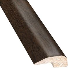 Hickory Ale 0.88 in. Thick x 2 in. Wide x 78 in. Length Hardwood Carpet Reducer/Baby T-Molding
