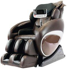 Bon Osaki OS4000TB Model OS 4000T Zero Gravity Massage Chair, Brown, Computer  Body Scan