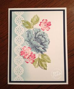 stampin up stippled blossoms | Stippled Blossoms | Space Coast Stamper