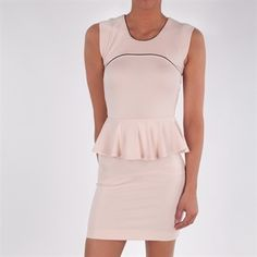 French Connection Women's Contemporary Valencia Peplum Dress