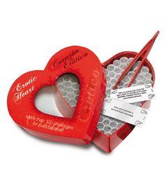Juego erótico - El corazón erótico para animar vuestras tardes juntos.