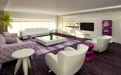 modern dekorasyonlu salonlar