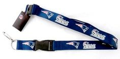 New England Patriots Team Colored Lanyard