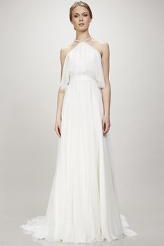 $165.79 –Halter Neck Chiffon Wedding Dress with Court Train www.ucenterdress..... Made to measure & Free Shipping! Shop lace wedding dresses, off the shoulder wedding dresses, open back wedding dresses, wedding dresses with sleeves, wedding dresses with straps, simple wedding dresses, plus size wedding dresses, short wedding dresses…We have the best designer Wedding Dresses 2017 on sale at #UcenterDress.com today!