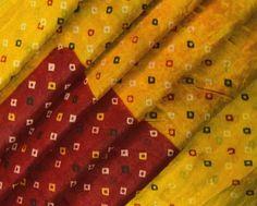 Vintage Saree Pure Silk Used Soft Wrap Scrap Recycled Design Fabric Women Crafted Dress Bandhani Printed pattern Summer Wear Sari mk2418