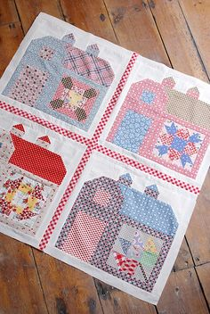 Barns with quilt blocks on them