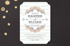 clouds, weddings, shower invitations, wedding invitations, wedding colors, cut outs, stripe sweet, sweet nothings, baby showers