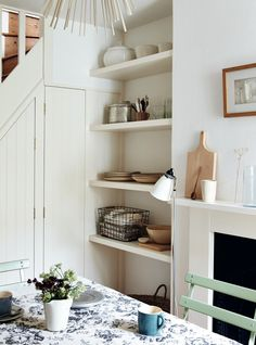 Drawing on a wealth of solutions gathered on the job, London interiors stylist and writer, Sara Emslie produced Beautifully Small: Clever Ideas for Co