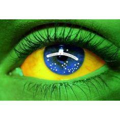 Leather Keyring Engraved Florianopolis City Brazil Flag