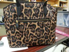 My #MK leapard bag!! So in love!! #spoiled