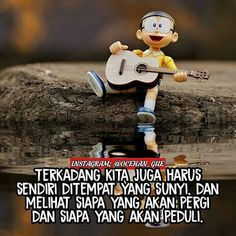 Why So Serious, Inspire Quotes, Quotes Indonesia, Doraemon, Amai, Caption, Cool Words, Quote Of The Day, Best Quotes
