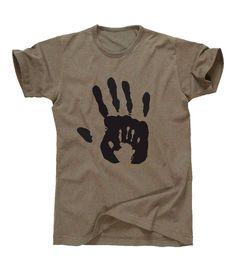 Father  Son Handprint T Shirt  Unisex Sizing