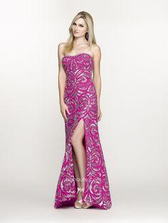 BG Haute Spring/Prom 2014 style #G47691 Fuchsia/Silver. www.bghaute.com  #prom2014