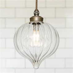 Ava Bathroom Pendant in Antiqued Brass