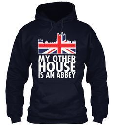 I love this! Even though I'm sure a true person of Downton wouldn't be caught dead in a sweatshirt...or another man's house for that matter.