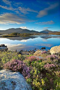 First light, Loch Druidibeag, South Uist Outer Hebrides, Scotland