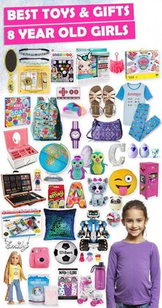 Tons of great gift ideas for 8 year old girls. Tons of great gift ideas for 8 year old girls. 8 Year Old Christmas Gifts, Christmas Toys, Xmas Gifts, Christmas Ideas For Girls, Handmade Christmas, 10 Year Old Gifts, 8 Year Old Girl, Presents For Girls, Birthday Gifts For Girls