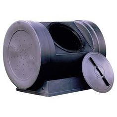 Wizard Jumbo Compost Tumbler in Black