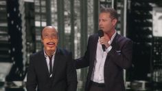 2015 GAGNANT SAISON 10: PAUL ZERDIN ventriloque #3 semi finale Top 20 - using Howie Mandel as a dummy (through a remote controlled mask). Paul then switched places with Howie by pretending to be a judge while he forced Howie to struggle and dance on stage.