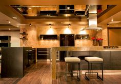 Characteristic, distinctive kitchens, modern kitchen design ideas