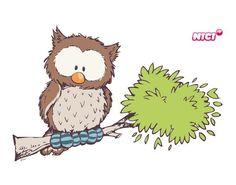 Wandtattoo Oscar Owl Beliebte Marken NICI More NICI Friends