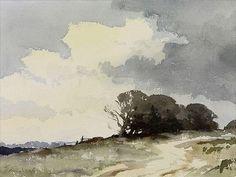 Edward Seago (1910 — 1974, UK) sketch. watercolor. - Поиск в Google