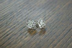 矢野 容子 : glass earrings
