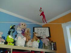 Elf on the Shelf Caught on Camera