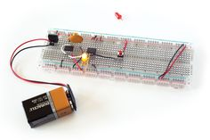 How to Use Digital Potentiometers to Control Light and Sound – Mcv Criss How to Use Digital Potentiometers to Control Light and Sound Figure C: A test circuit that fades a red LED up or down when you press the button. Electronics Projects, Cool Electronics, Consumer Electronics, Iphone 5c, Electronic Gifts For Men, Usb, High Tech Gadgets, Electronic Engineering, Electrical Engineering