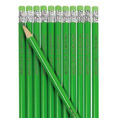 Green Personalized Pencils - OrientalTrading.com