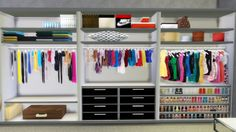 """hypersimsitive:  """"I waited about forever for somebody / anybody to make some recolours of the Giesen Built-in Closet set, until I figured I should do it myself. Nicol600 has made a freaking awesome job with this set, I can't deny. but it is too..."""