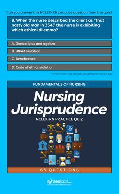 nursing jurisprudence This course is intended to instruct the texas nurses on ethics, laws, and rules that govern nursing practice in the state of texas, including those from the texas statutes (occupations code), the texas board of nursing rules (administrative code), and texas board of nursing position statements.