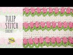 Tutorial Tulip Stitch Crochet