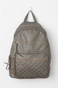 Kimchi Blue Quilted Faux Leather Backpack urbanoutfitters.com $49.00