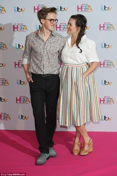 It's all about you! Tom Fletcher showed off his quirky sense of style as he enjoyed a date night with wife Giovanna