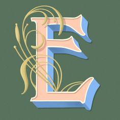 43 Ideas Art Nouveau Typography Lettering Logos For 2019 Japanese Typography, Typography Poster, Graphic Design Typography, Jessica Hische, Art Nouveau, Doodle Frames, Kindergarten Art Projects, Drop Cap, Layout