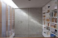 transluscent corrugated plastic as walls
