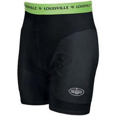 Louisville Slugger Women's Slugger Compression Short, Size: Women's Medium, Black