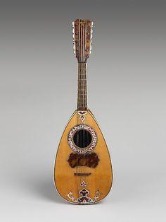 Mandolin  Attributed to Vincentius Vinaccia (Italian, Naples active 1769–1795 Naples)  Date: ca. 1770