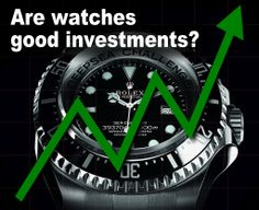 Are watches good investments? Check out our blog to learn more. http://www.crmjewelers.com/blog/ #luxurywatches #investments #rolex #investinwatches #investing