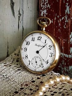 1903 Antique Rockford Railroad Grade Pocket Watch