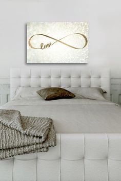 """Sparkle Love Canvas Art- Fine art canvas print by The Oliver Gal Artist Co - Professionally hand stretched gallery wrapped in sustainable, FSC certified wood - Arrives ready to hang with all hardware included - Includes a certificate of authenticity by the artist on the back of every art piece - Original individually made pieces. Each is hand stamped as they are created - Features 1"""" depth"""