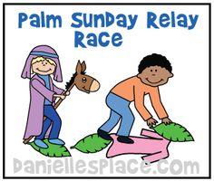 Donkey Relay Race www.daniellesplace.com