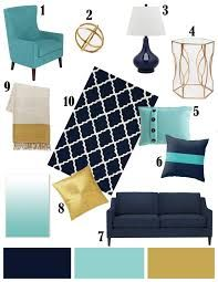 Image result for navy white and gold bedroom