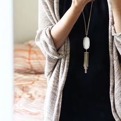 Kendra Scott Rayne Necklace #outfit #kendrascott